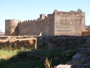 Castillo Viejo de Ponferrada. Nrt arqueólogos