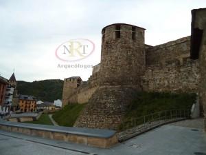 Nrt arqueologos, castillo de Ponferrada, empresa de arqueología